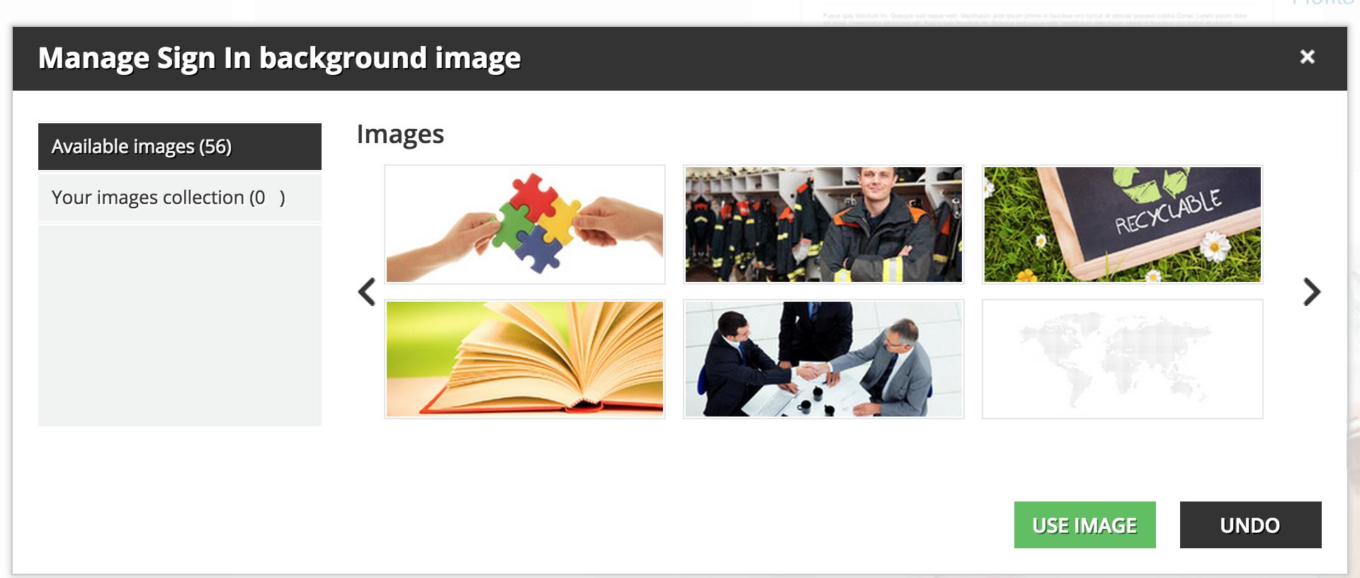 branding Background Image