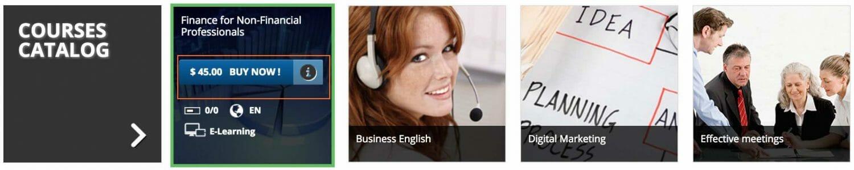 Courses catalog - Buy Now