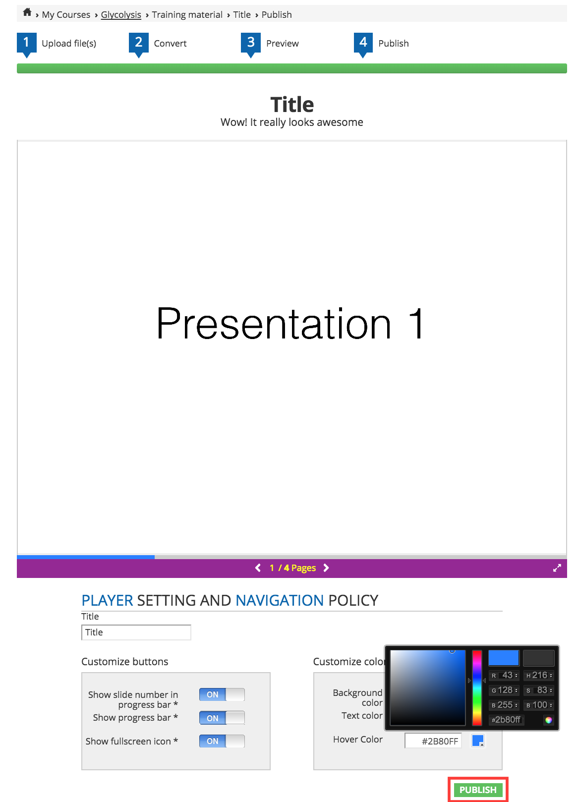 Slides converter final publish