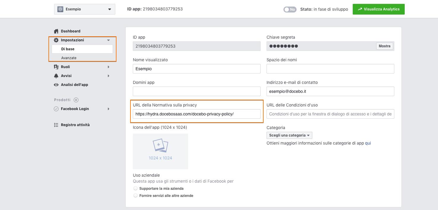 URL Normativa Privacy