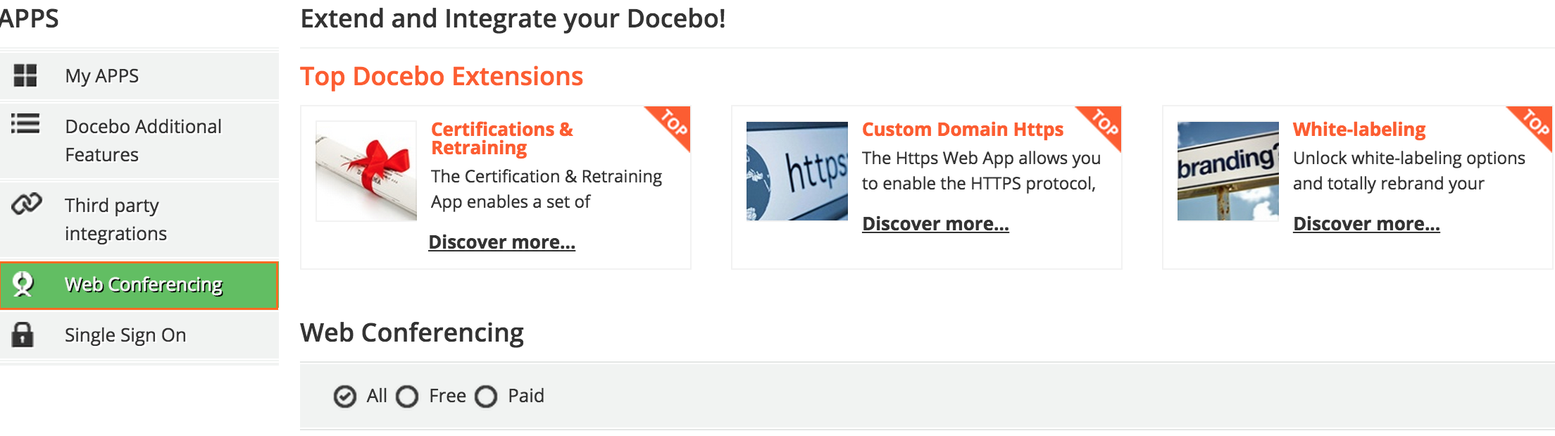 How to integrate your docebo lms with adobe connect web conferencing apps 1betcityfo Gallery