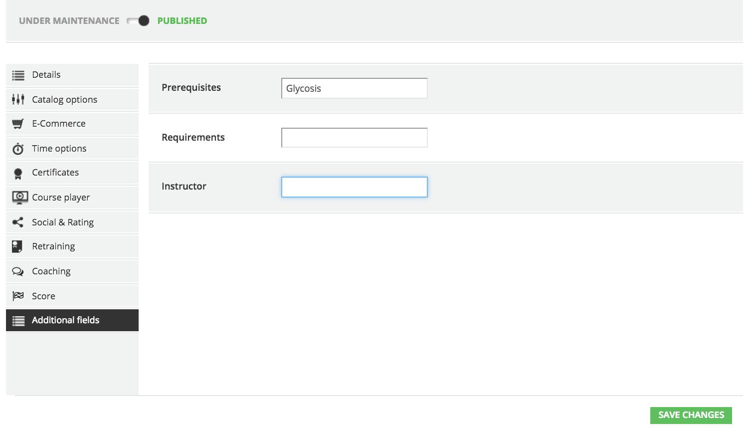 advanced settings add fields