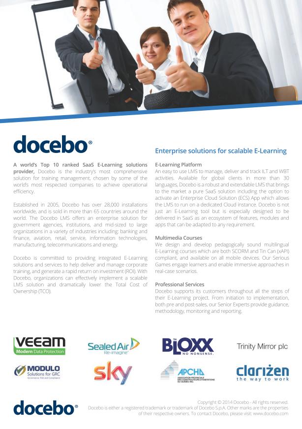 Brochure Docebo