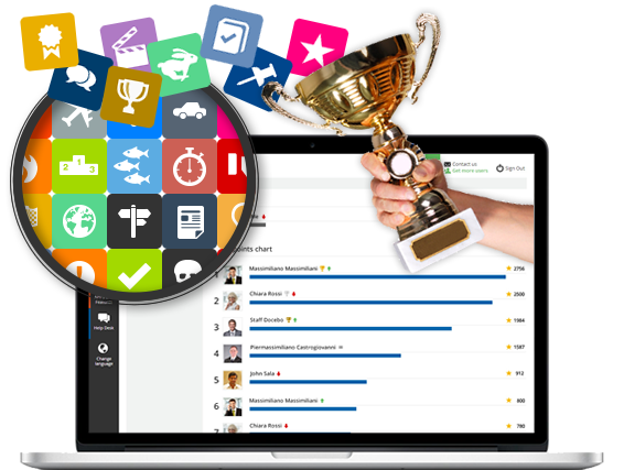 Gamification for effective elearning courses