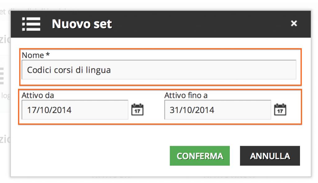 Come attivare e gestire l 39 app codici di iscrizione docebo - Creare finestra popup ...