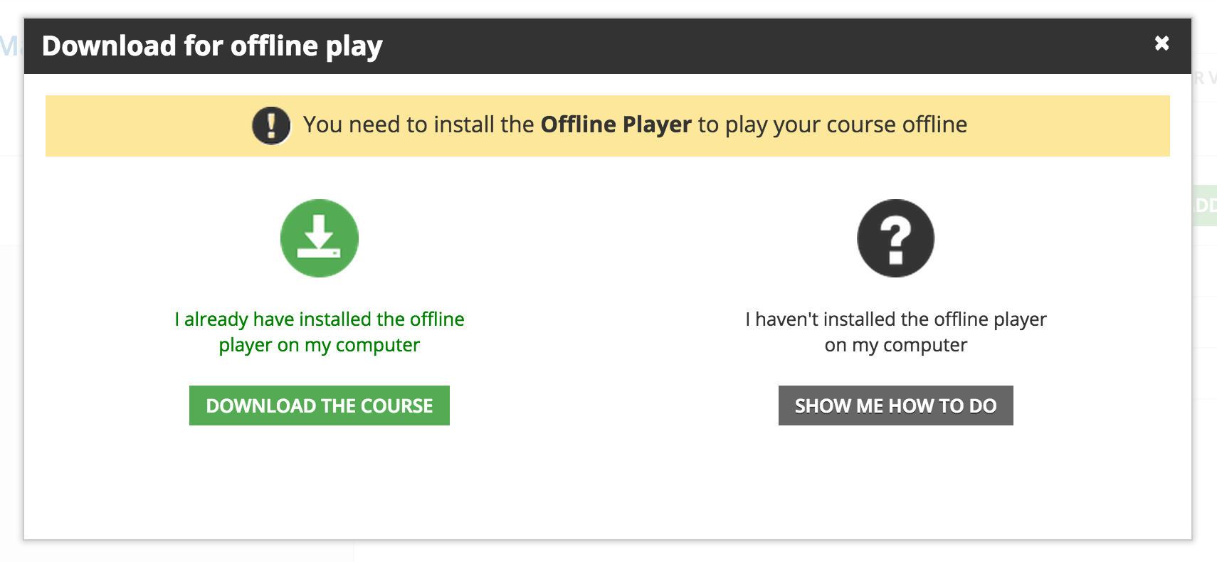 Download offline player