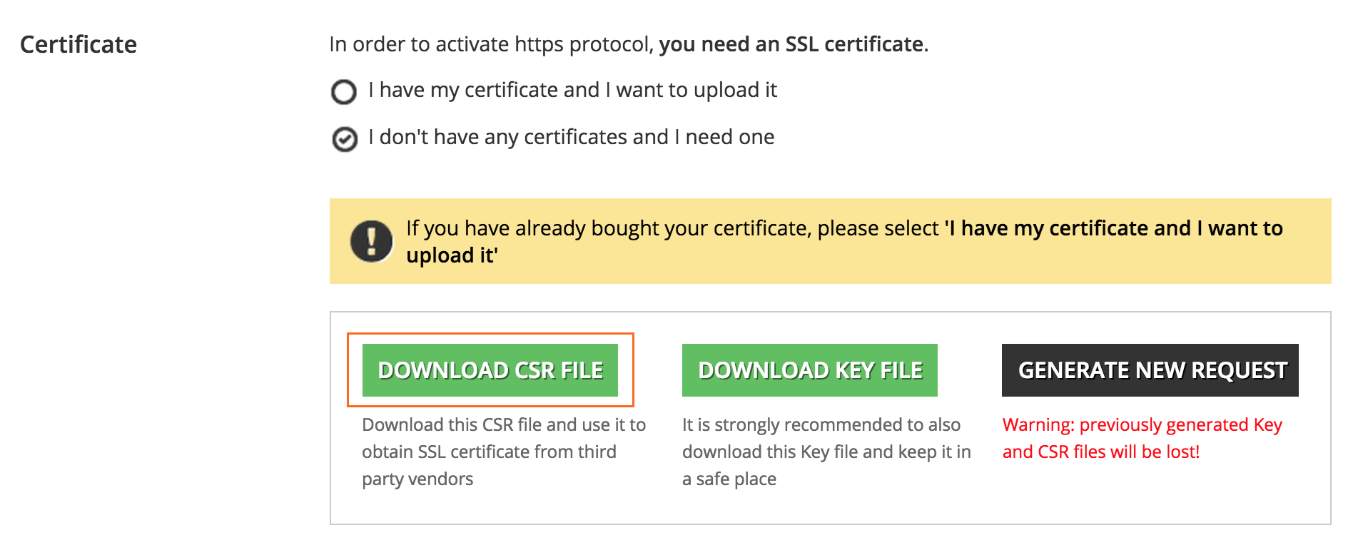 How to activate and manage the https app docebo https download csr file 1betcityfo Gallery