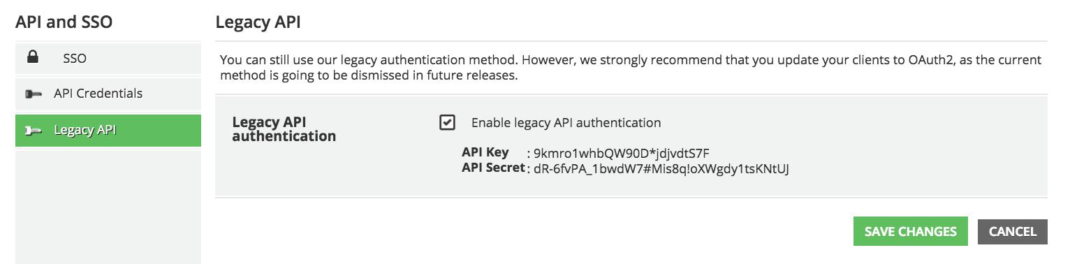 api sso legacy app