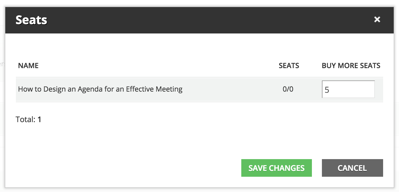 power user Seats to buy