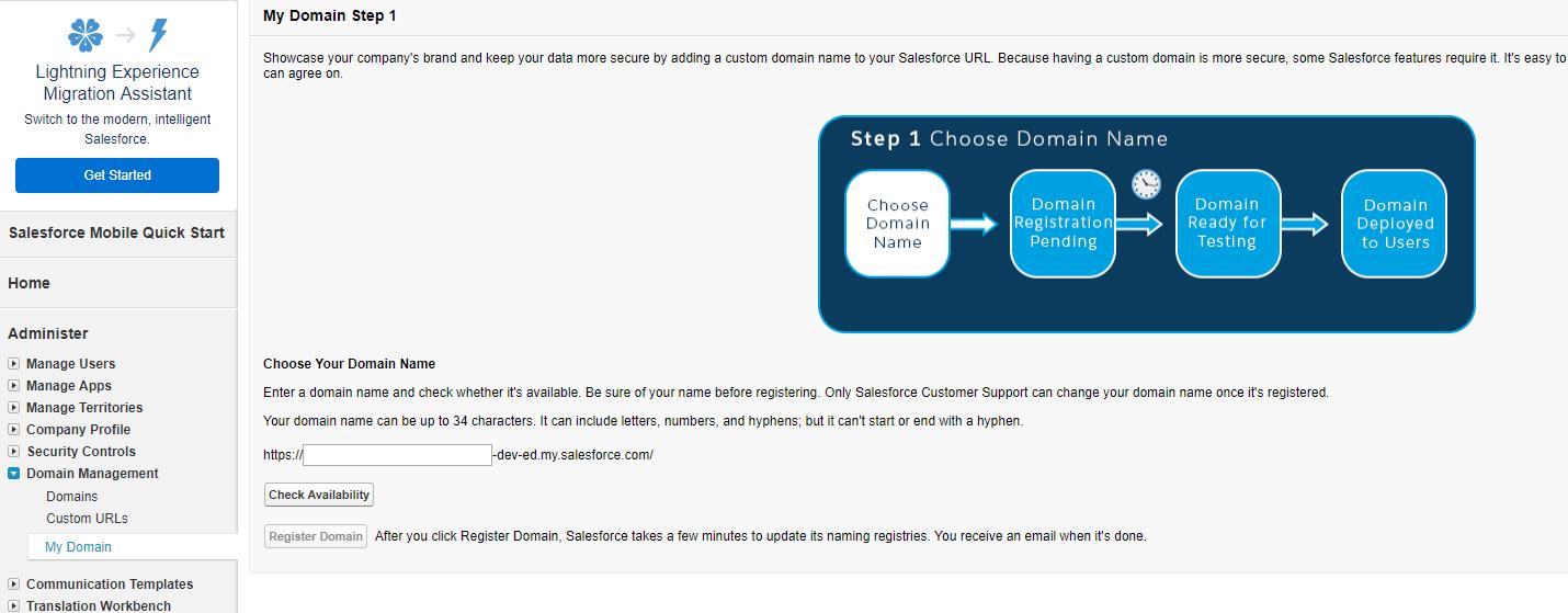 salesforce username