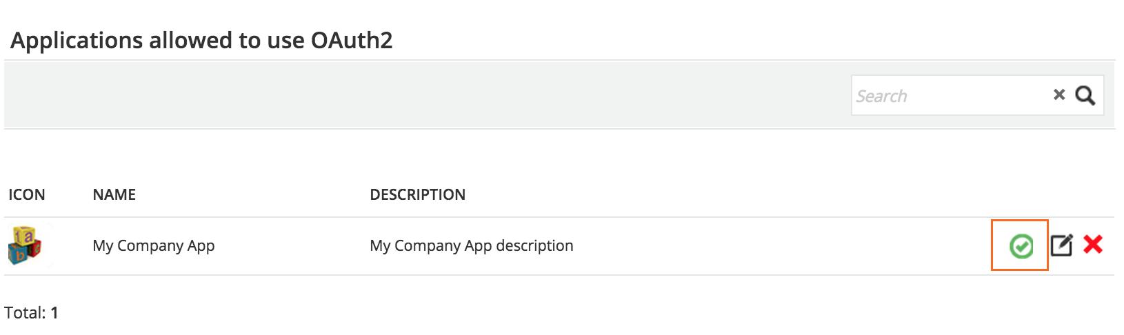 api sso Activate App