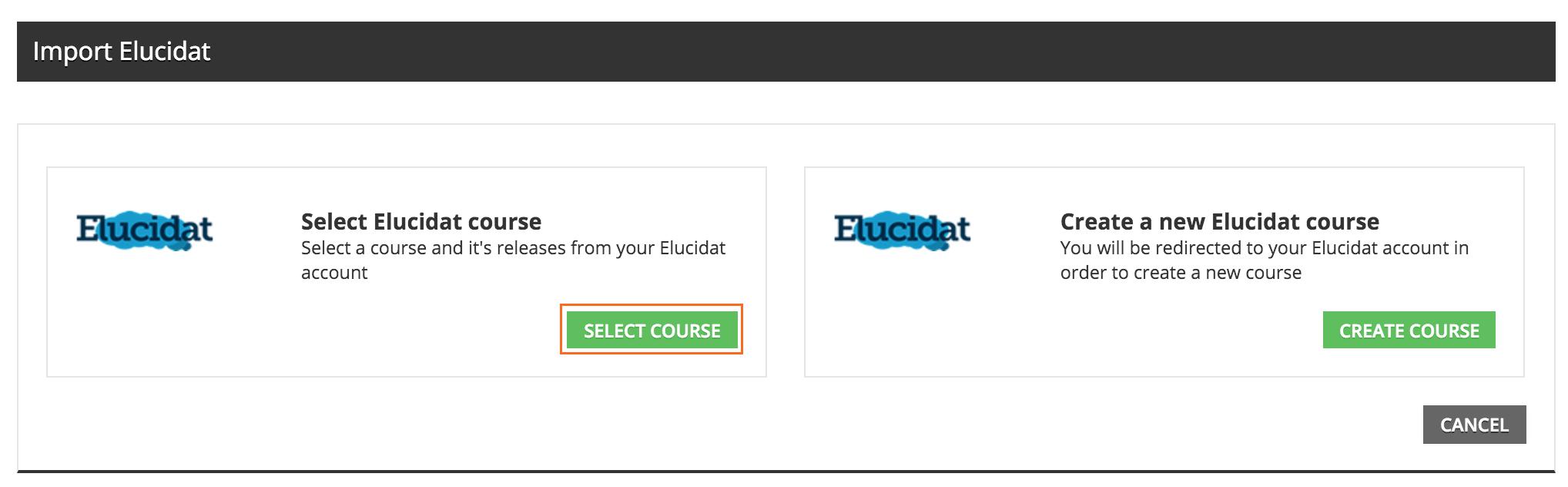 elucidat Select course