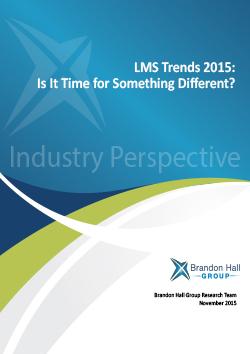 LMS trend 2015