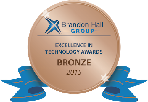 Bronze Tech Award 2015 by Brandon Hall