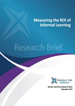ROI Informal Learning