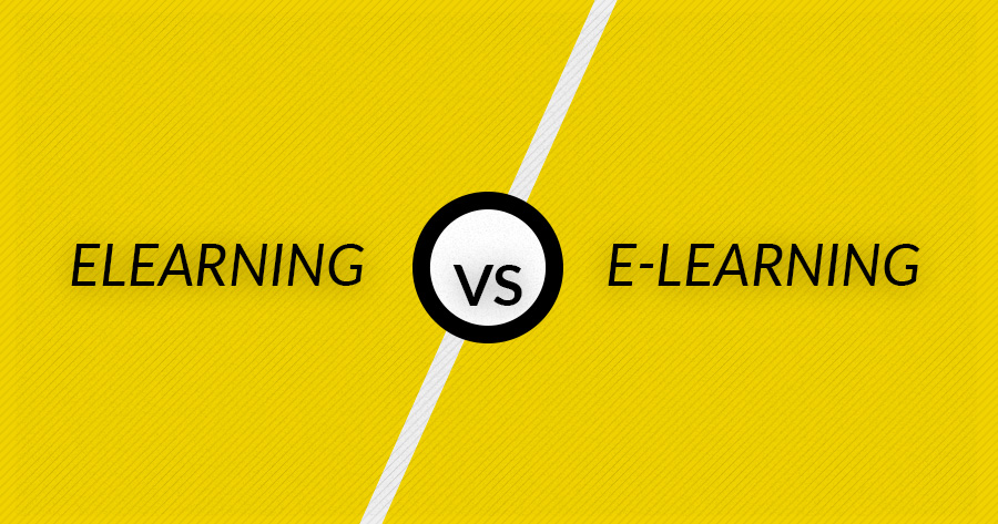 Elearning Or E Learning Or Elearn Spelling Whats In A Word