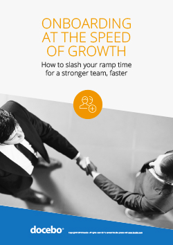 Onboarding at the Speed of Growth
