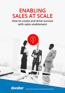 Enabling Sales at Scale