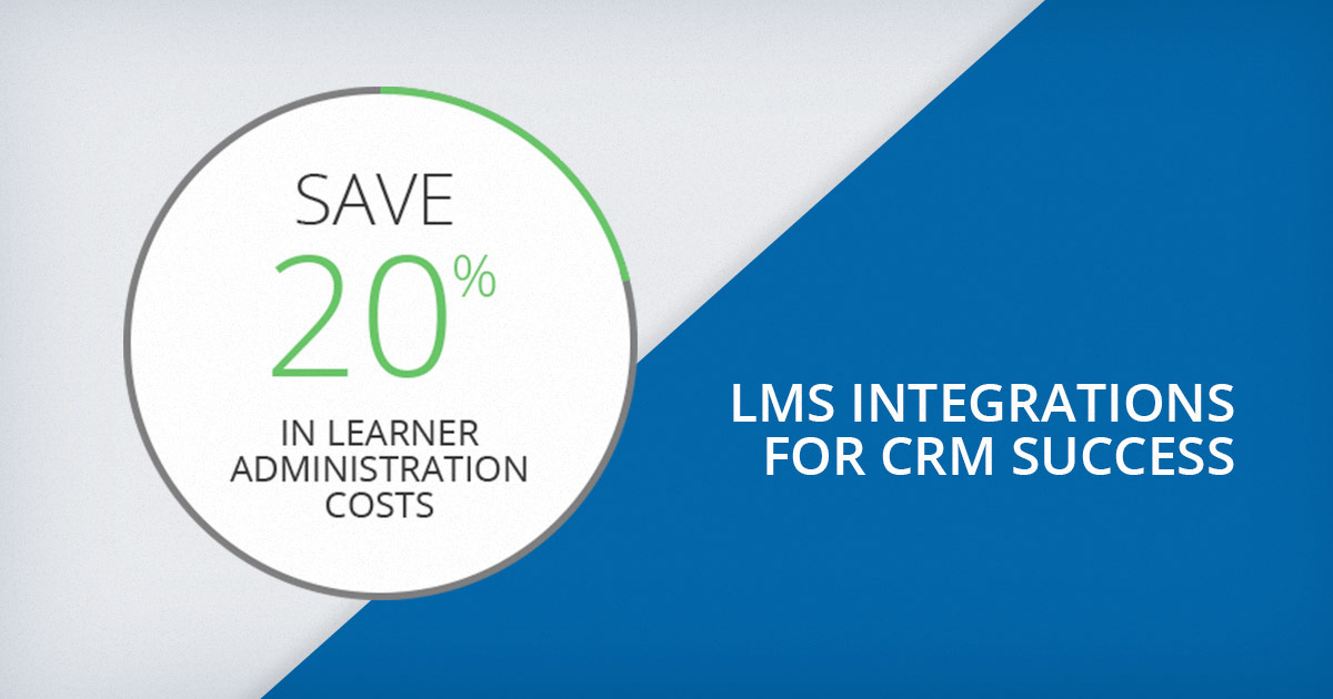 Report: Integrating your CRM and LMS to Drive Sales and Fuel Performance