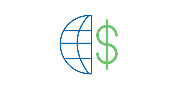 Expand internationally by collecting payments through popular worldwide gateways
