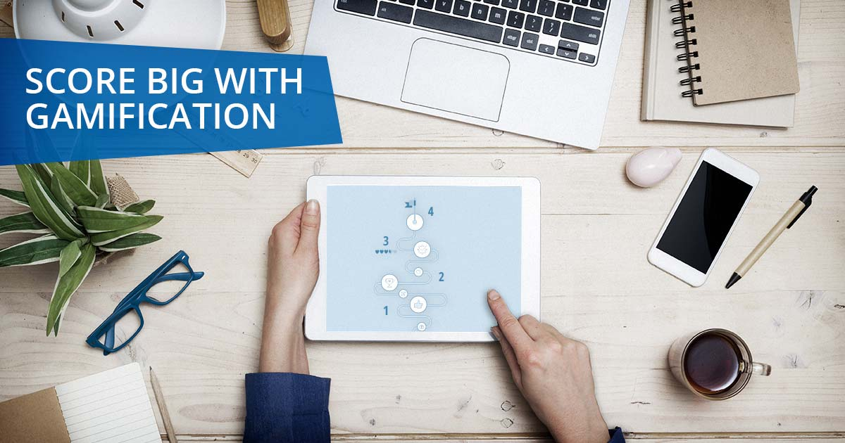 Score Big with Gamification