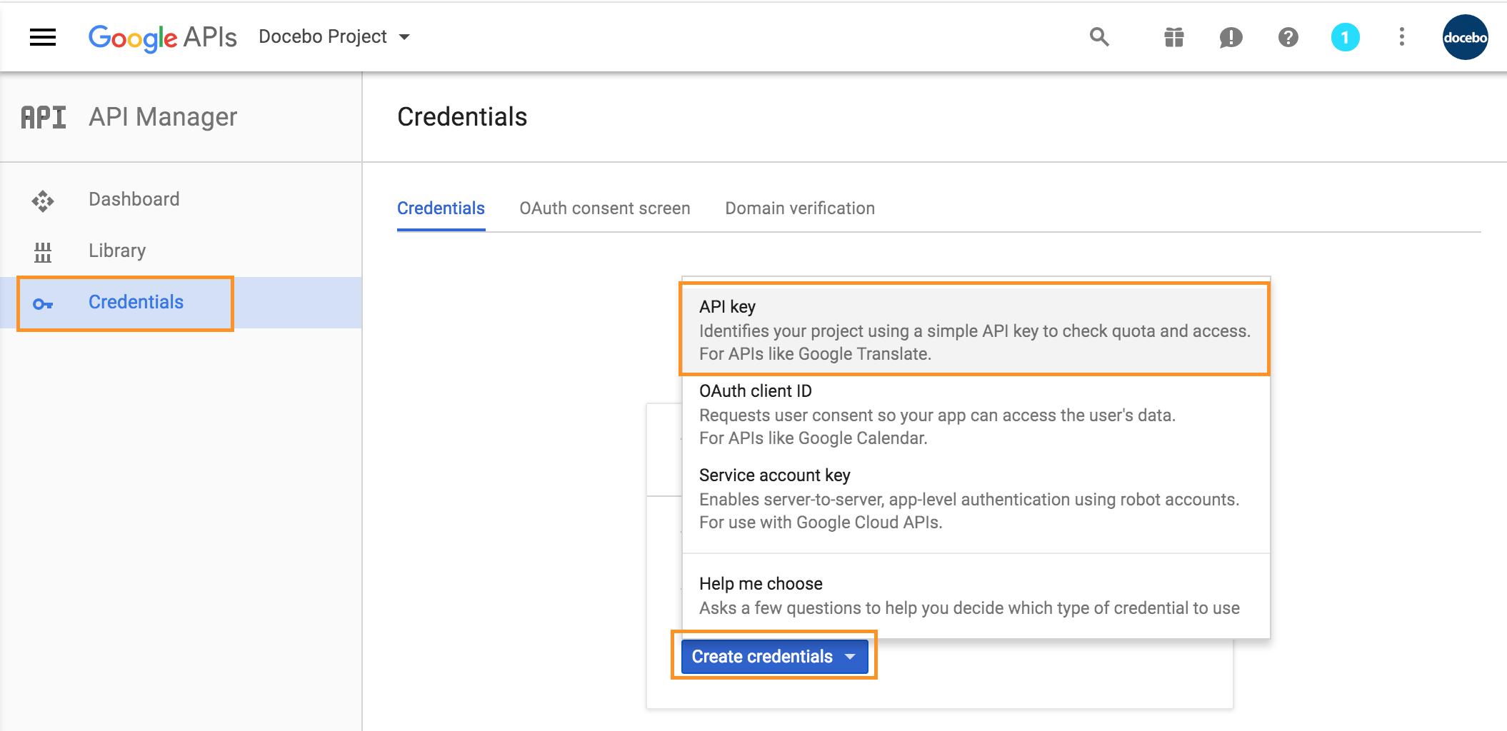 Come integrare il tuo lms docebo con google drive - Creare finestra popup ...