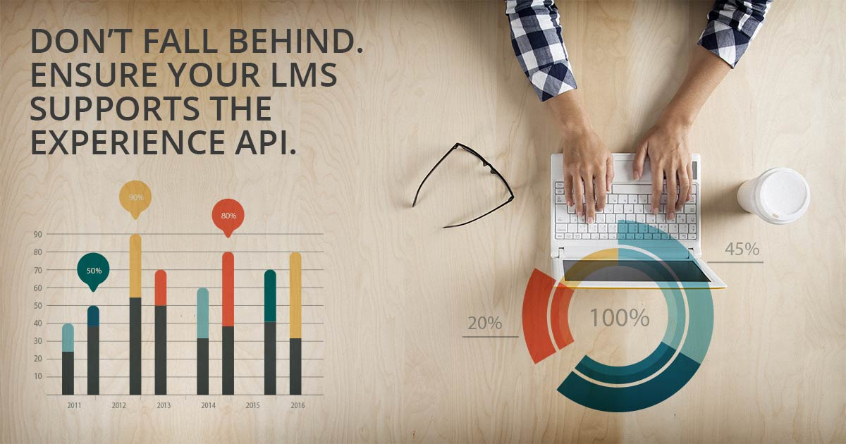 Don't fall behind. Ensure your LMS supports the Experience API.