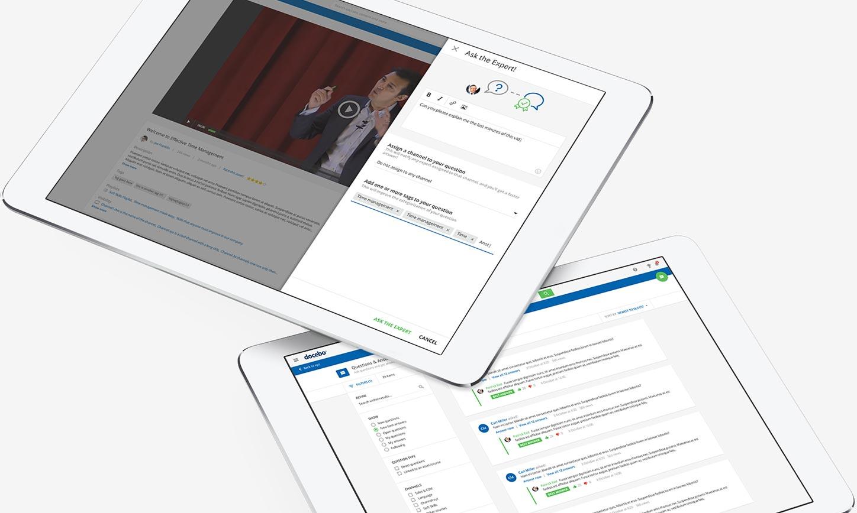 Sistema de gestión de aprendizaje en línea para el aprendizaje informal