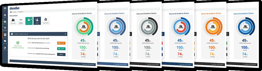 Personalización de la plataforma Docebo LMS y marca blanca