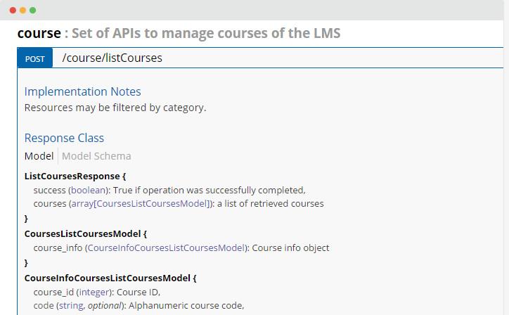 Plataforma LMS con integraciones API y SSO