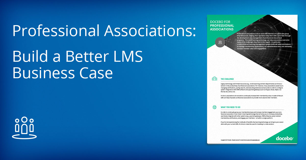 LMS for Associations