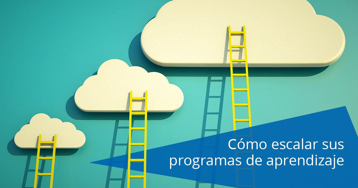 Cómo escalar sus programas de aprendizaje