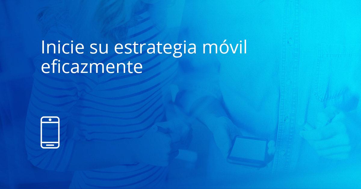 Estrategia de aprendizaje móvil