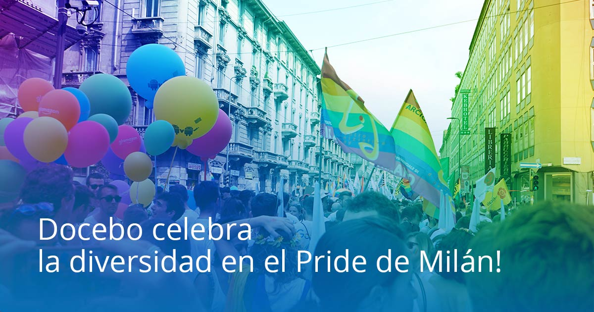 Pride de Milán 2017 Docebo