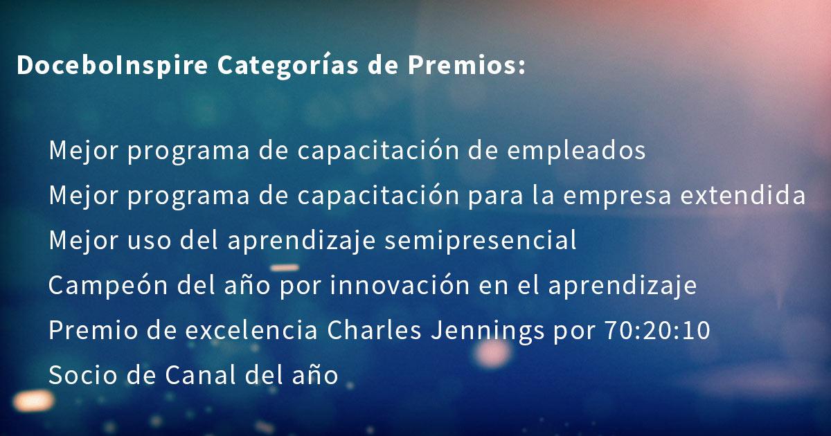DoceboInspire Premios
