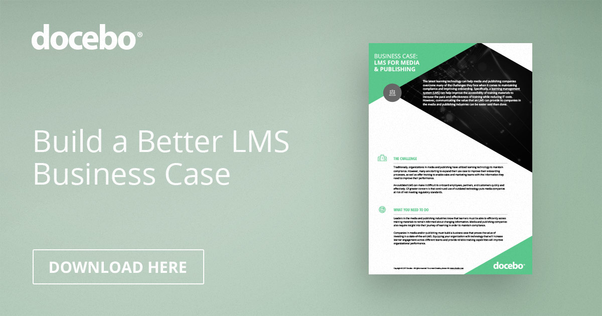 wriston case lms Industry, this is no longer the case, particularly in technology, where small start- up  an online corporate learning management system, delivering workforce  performance management solutions  walter wriston, former ceo of citibank.