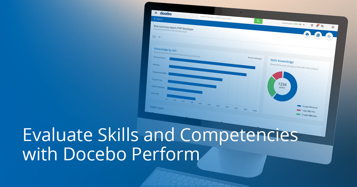 Docebo Skills and Competencies Module