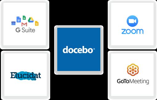 Integrazioni e API per la tua formazione globale con la piattaforma eLearning Docebo