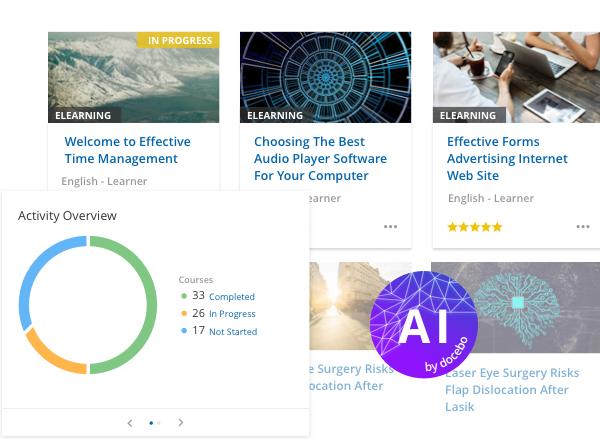 Docebo Learn (LMS) - Plataforma de aprendizaje IA