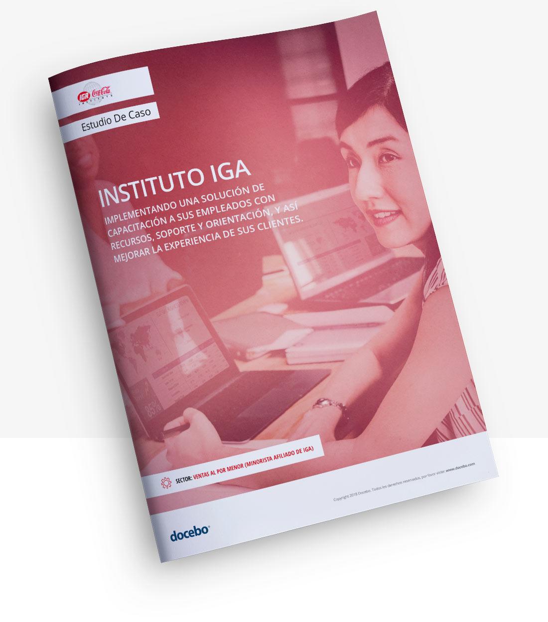 El Instituto IGA está mejorando la experiencia de comprar de sus clientes con Docebo