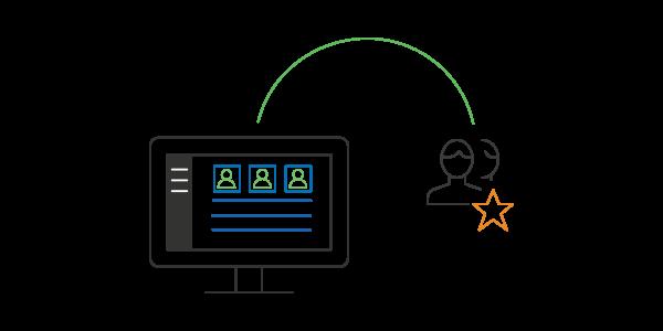 Cree usuarios avanzados para delegar tareas administrativas
