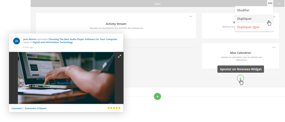 Créer une superbe expérience utilisateur