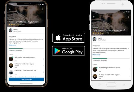 Personalizza la tua app e pubblicala negli store Apple o Google Play