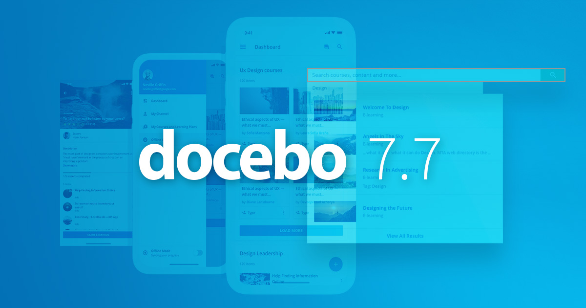 How Docebo 7.7 Helps You Amplify Digital Learning Experience to Produce Better Learning Outcomes