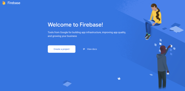welcome to firebase